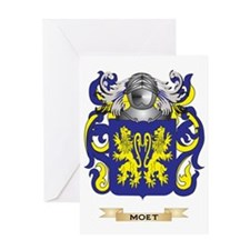 Moet Coat of Arms - Family Crest Greeting Card
