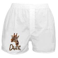 giraffe dude Boxer Shorts