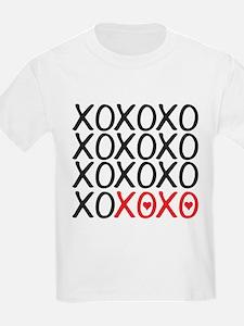 xoxo, kiss hug kiss hug, i love you T-Shirt