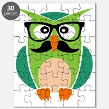 Hipster Owl Puzzle