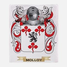 Molloy Coat of Arms - Family Crest Throw Blanket