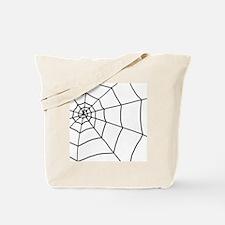 shower web Tote Bag