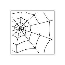 "shower web Square Sticker 3"" x 3"""