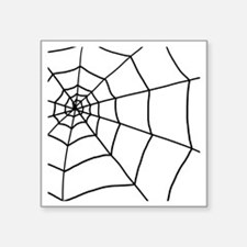 "shower web Square Sticker 3"" x 3"""