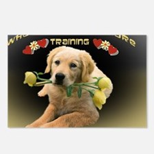 Lab Training Postcards (Package of 8)