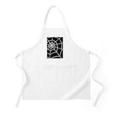 shower spider web black rug Apron