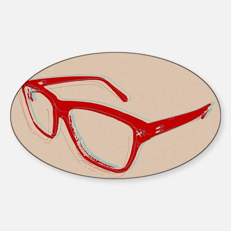 Glasses Decal