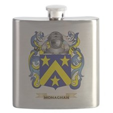 Monaghan Coat of Arms - Family Crest Flask