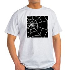shower spider web black T-Shirt