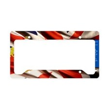 Princess Diana Historical License Plate Holder