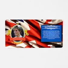 Princess Diana Historical Aluminum License Plate