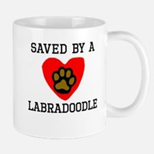 Saved By A Labradoodle Mugs