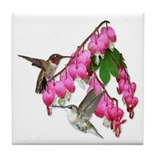 Flying Jewels Tile Coaster