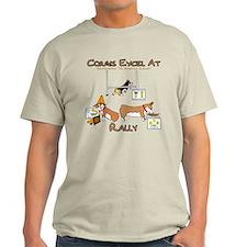 Corgis Excel at Rally T-Shirt