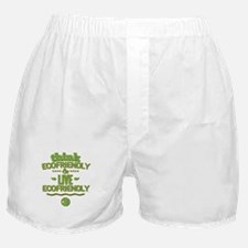 Think Ecofriendly And Live Ecofriendly Boxer Short