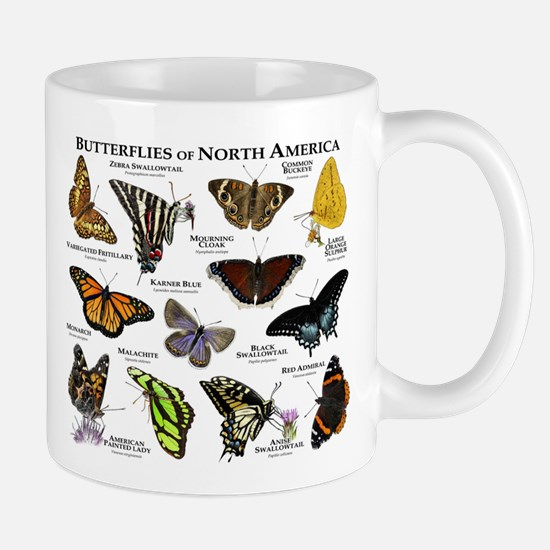 Butterflies of North America Mug