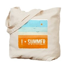 I Heart Summer Tote Bag