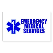 EMS Rectangle Decal
