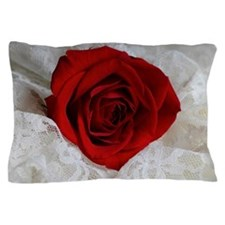 Wonderful Red Rose Pillow Case