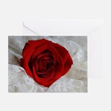 Wonderful Red Rose Greeting Card