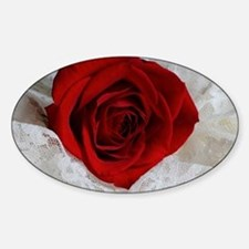 Wonderful Red Rose Decal
