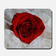 Wonderful Red Rose Mousepad