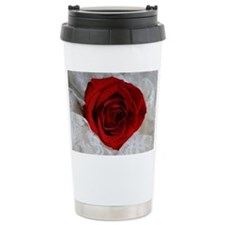 Wonderful Red Rose Travel Mug