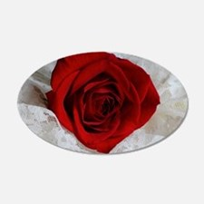 Wonderful Red Rose Wall Decal