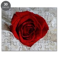Wonderful Red Rose Puzzle