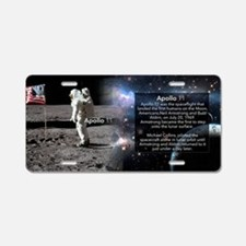 Apollo 11 Historical Aluminum License Plate