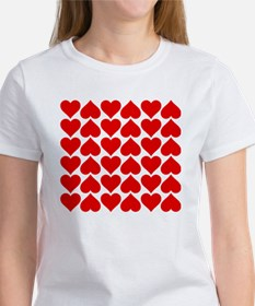 Red Heart of Love Women's T-Shirt