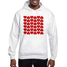 Red Heart of Love Hoodie