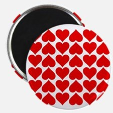 Red Heart of Love Magnet