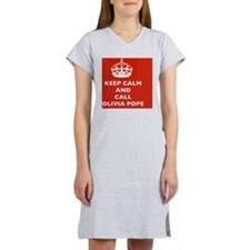 Keep Calm and Call Olivia Pope- Women's Nightshirt