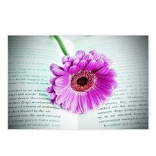 Wonderful Flower with Boo Postcards (Package of 8)