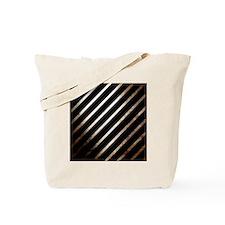 Vintage Rustic Style Stripes Tote Bag