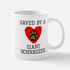 Saved By A Giant Schnauzer Mugs