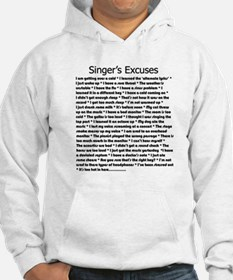 Singer's Excuses Jumper Hoody