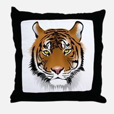 Wonderful Tiger Throw Pillow