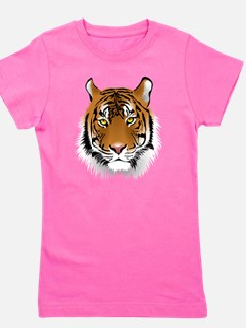 Wonderful Tiger Girl's Tee