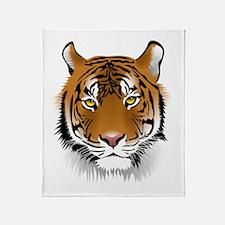 Wonderful Tiger Throw Blanket