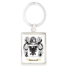 Moriarty Coat of Arms - Family C Portrait Keychain