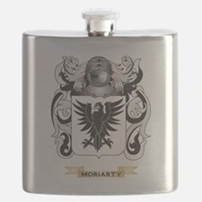 Moriarty Coat of Arms - Family Crest Flask