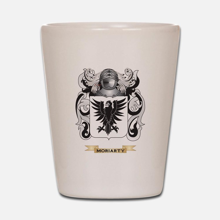 Moriarty Coat of Arms - Family Crest Shot Glass