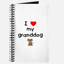 I love my granddog (3) Journal