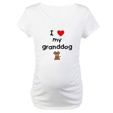 I love my granddog (3) Shirt