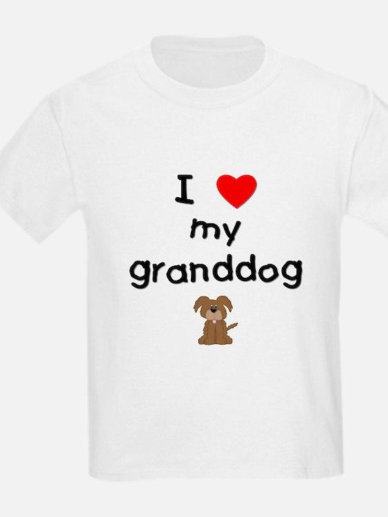 I love my granddog (3) T-Shirt