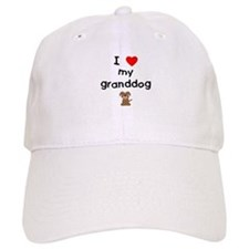 I love my granddog (3) Baseball Cap