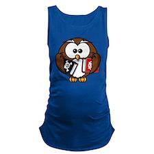 Owl Maternity Tank Top