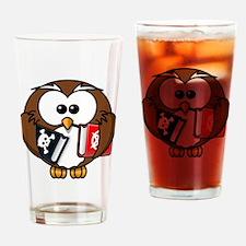 Owl Drinking Glass